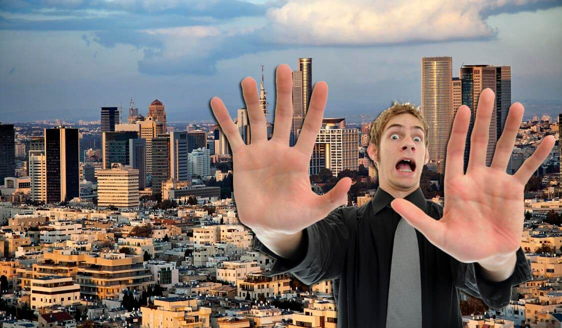 This is Why You Shouldn't Move to Tel Aviv, Told In GIFS