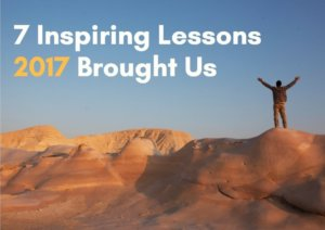 7 Inspiring Lessons 2017 Brought Us